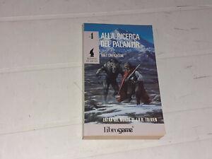 LA TERRA DI MEZZO N°4: ALLA RICERCA DEL PALANTIR (MILT CREIGHTON) LIBROGAME