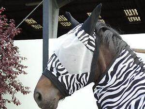 Zebra oder Star Fliegenmaske