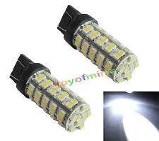 2x Car 7440 W21W WY21W 7441 T20 68 LED 5050 SMD Tail Brake Light Lamp Bulbs
