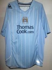 Manchester City 2008-2009 Home Football Shirt Size XL jersey mallot /13529