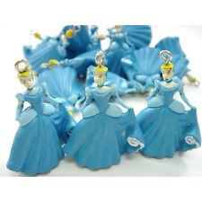 Wholesale 20 pcs Princess Cinderella Jewelry Making Figure Pendant Charms + GIFT