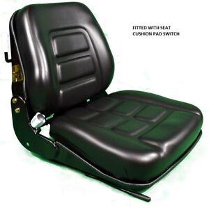 Dumper seat ROLLER SEAT SWITCHED TEREX THWAITES BENFORD BOMAG WACKER NEUSON