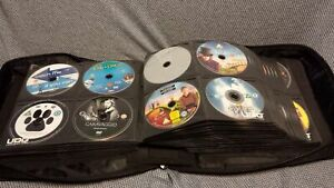 Various/Mixed  Job Lot 262 DVDs TV/Film in Carry Case Grade A