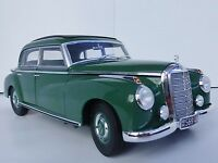 Mercedes-Benz 300 1955 W186 1/18 Norev 183516 Mercedes Green W 186 Typ