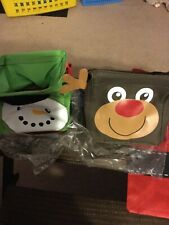 Thirty One Littles Carry All Cady  ( Snowman And Reindeer )