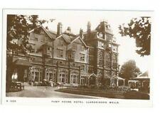 Postcard Llandrindod Wells Pump House Hotel Kingsway RP Radnor 1910 era