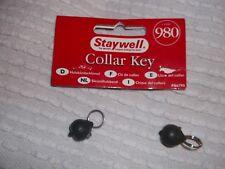 2 Staywell magnetic collar keys - Grey 980