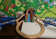 Thomas The Tank Wooden w Waterfall tunnel Mountain Arched bridges ,Track w sound