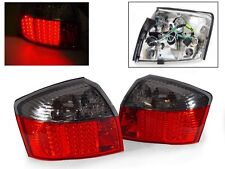 DEPO 2002-2005 AUDI A4 / S4 B6 CHASSIS 4D SEDAN RED / SMOKE LED TAIL LIGHTS 8E