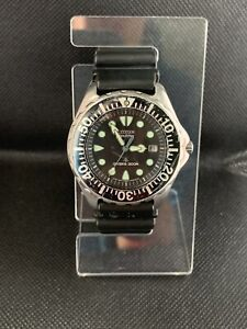 Citizen Stainless Steel Eco-Drive Divers Japan Watch E168-S016525  BN0000-04H