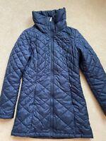 North Face Women's High Collar Blue Puffer Jacket - NWOT $298