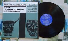 Tarascan and other Music of Mexico LP Folkways VG++