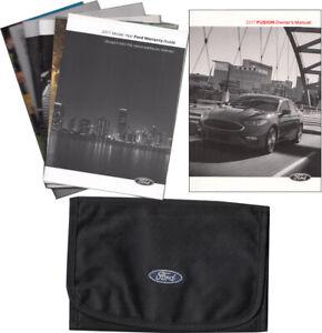 2017 Ford Fusion Propietarios Manual Gas Usuario Operador Instrucción Guía Libro