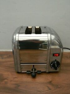 Dualit 2 Slice Toaster Chrome/stainless steel finish