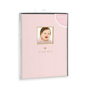 Sweet Simple Pink Girl Baby Memory Book : Baby Memory Books / Baby Record Books