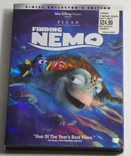 Disney Pixar Finding Nemo (DVD, 2003, 2-Disc Set) w/Slipcover