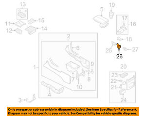 NISSAN OEM Center Console-Ring 25339AG000