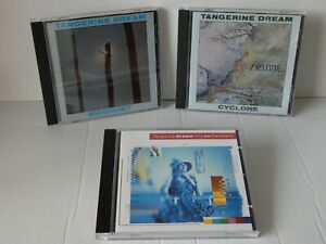 Tangerine Dream - Job Lot x 3 CD albums