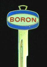 BORON Crest KEY 1935-1966 Vintage Chevrolet Pontiac Cadillac Oldsmobile Buick