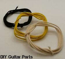 More details for vintage cloth guitar and amp 22 awg push back wire 3x 1 meter lengths.