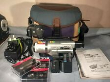 Sony DCR-TRV120E Handycam Camcorder with Remote, Infared Light & Ext. Battery.