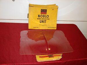 49 50 51 52 CHEVROLET PONTIAC 2 DR SEDAN NOS NOBLO GM ACCESSORY WIND DEFLECTORS