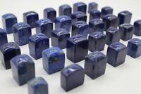 Lapis Lazuli Oberlisk Form Geschliffen Dekoration Heilstein Naturstein Edelstein