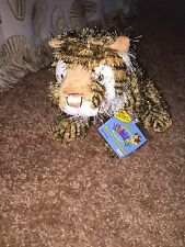 "Webkinz Ganz Tiger HM032 9"" With Unused Code"