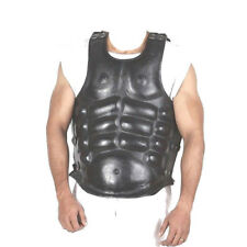 Leather Muscle Body Armour Breastplate Reenactment Greek Roman Jackets Cuirass