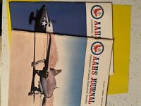 AAHS JOURNAL AMERICAN AVIATION HISTORICAL SOCIETY MAGAZINE TWO DIFF ISSUES