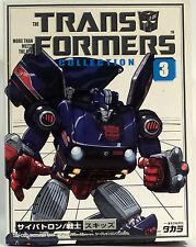 Transformers: Patines De Colección 3 hecha por TAKARA-re-issue Modelo (ahora)