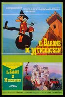 Manifesto S11 the Baron by Munchausen Animation Jean Image Legrand