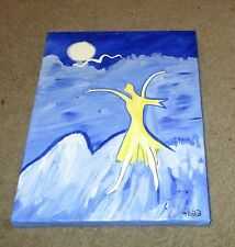 """Acrylic Painting-""""MISSY-RELEASED""""-9 x 12-Inspired by The Shack-Free Shipping"""