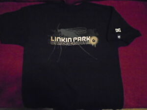 RARE Linkin Park DC shoes Underground 6 fan club SHIRT medium CHESTER BENNINGTON