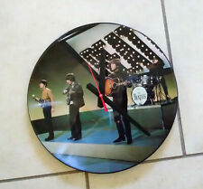 """THE BEATLES-12"""" PICTURE DISC CLOCK--GREAT GIFT!*FREE SHIPPING!!-"""