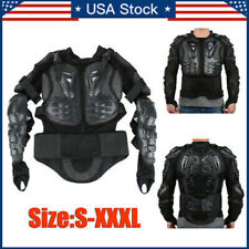 Motorcycle Full Body Armor Jacket Spine Chest Protection Riding Gear Guard Usa