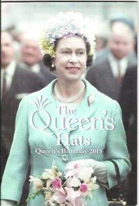Australia 2015 $14.95 The Queens's Hats Prestige Booklet in MINT condition