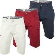 Crosshatch Cotton Cargo, Combat Shorts for Men