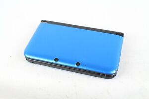 Nintendo 3DS LL XL console blue black Japan tested working