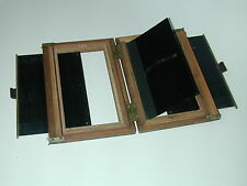 CHASSIS pour STEREO verre  CHAMBRE BOIS PHOTO PHOTOGRAPHIE XIX siècle