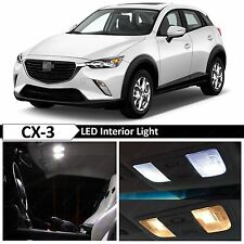 9x White Interior LED Light Package Kit for 2016 Mazda CX-3 CX3