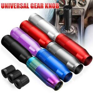 Aluminum Manual Car Auto Gear Sticks Shift Knob Shifters Lever Universals