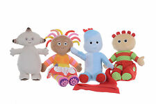 """NEW OFFICIAL 10-12"""" PLUSH SOFT TOYS SET OF 4 FROM IN THE NIGHT GARDEN"""