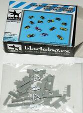 1/700 Deck Tractors / Flugzeugträger-Fahrzeuge von Blackdog