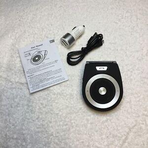 Bluetooth Wireless In Car Speaker Hands Free Calling Built In Mic T821