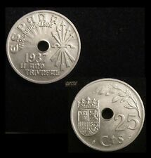 *GUTSE* FRANCO-693, 25 CÉNTIMOS 1937, S/C-