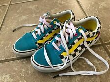 VANS OLD SKOOL CHECKERED SHOES WOMENS SIZE 7