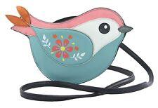 Sleepyville Critters Biddle Bird Cross Body Shoulder Bag Handbag Purse