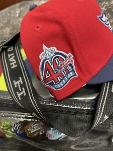 Hat Club Exclusive Anaheim Angels 2 Tone Jelly Jae Tips Spumoni New Era Fitted