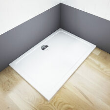 AICA 1400x800x30mm Rectangle Shower Enclosure Bathroom Tray Waste Great Val